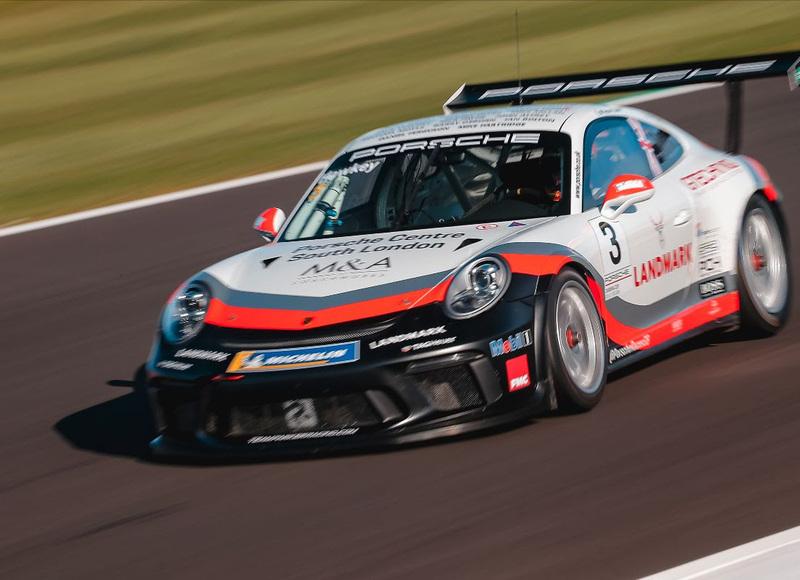 Esmee Hawkey Porsche GT3 Cup, Silverstone 2020
