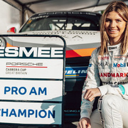 Esmee Hawkey Porsche Carrera Cup GB Pro-Am Champion 2020