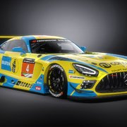 The Bilstein Mercedes AMG GT3 car for Dubai 24h 2021