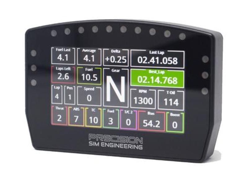 PSE DDU - LCD Dashboard with LEDs