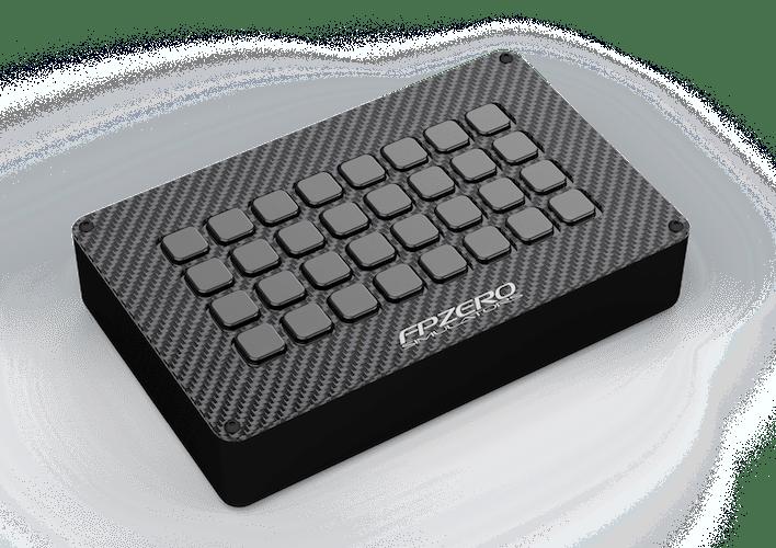 FPZERO Digital Button Box for sim racing