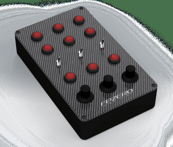 FPZERO Static Button Box for sim racing