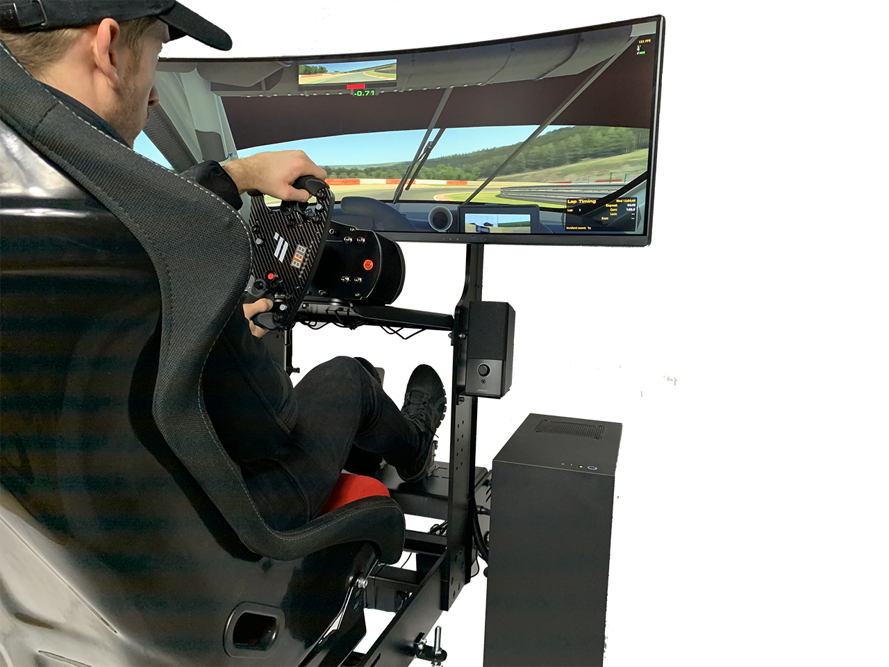 """FPZERO Clubsport simulator with Acer 49"""" Super-Ultrawide screen"""