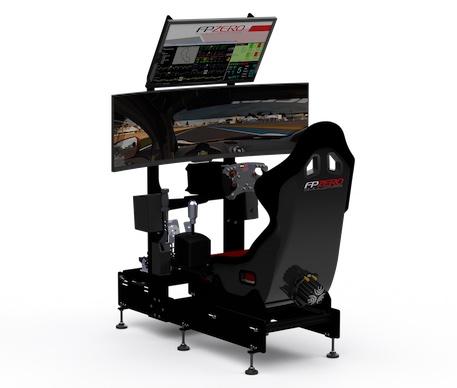 "FPZERO Clubsport Simulator with 49"" Super Ultrawide screen"