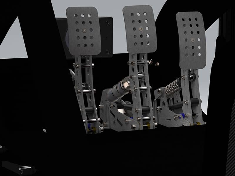 Heusinkveld Ultimate pedals on FPZERO Pro II