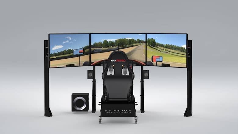 """FPZERO Pro II {{ label }} Simulator with triple 43"""" screens"""