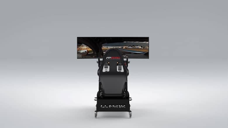 """FPZERO Pro II {{ label }} Simulator with triple 49"""" Super Ultrawide 144hz screen"""
