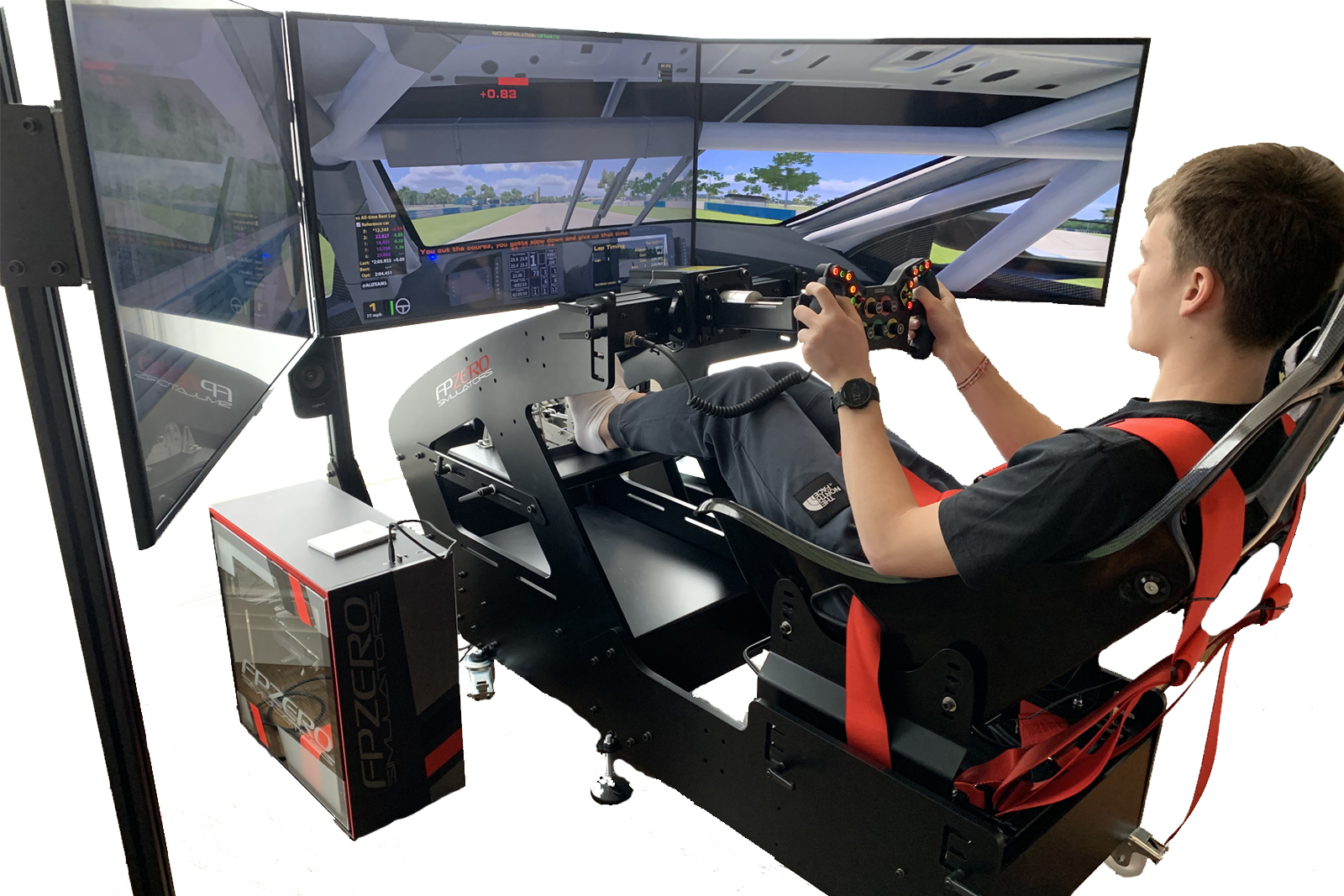 FPZERO Pro II Formula Simulator with 55 screens