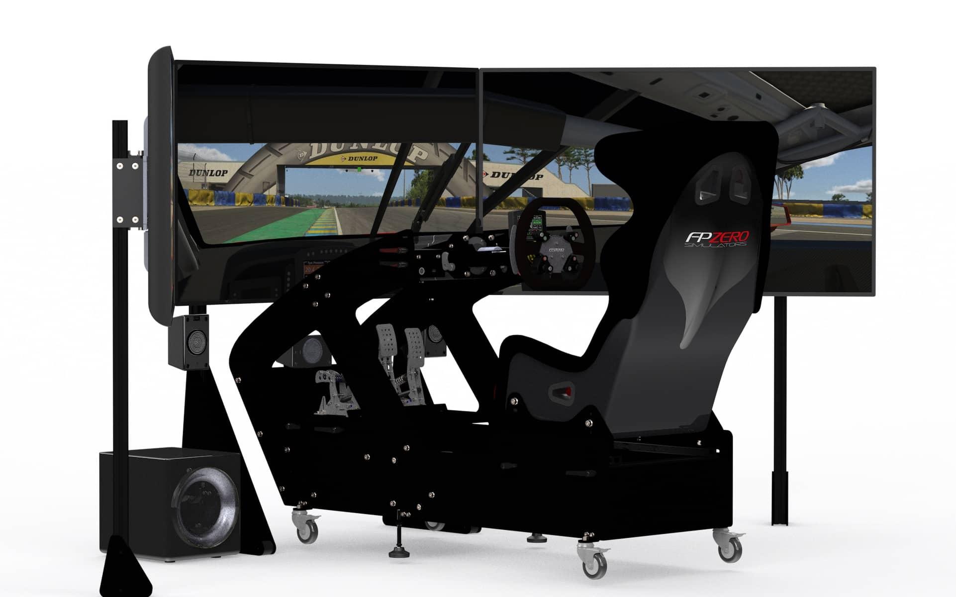 FPZERO Pro II GT Simulator with 55 screens