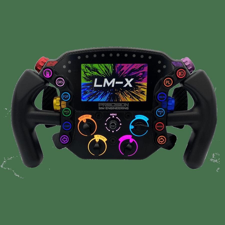 Precision Sim Engineering LM-X LMP/Formula steering wheel