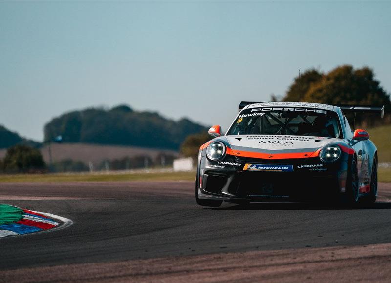 Esmee Hawkey Porsche Carrera Cup GB, Thruxton 2020